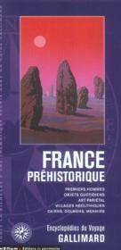 France Prehistorique (Premiers Hommes, Objets Quotidiens, Art P - Couverture - Format classique
