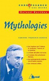 Mythologies, de Roland Barthes - Intérieur - Format classique