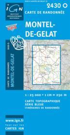 Montel de Gelat - Couverture - Format classique