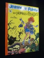 Jeannette Pointu T.16 ; Les Hommes Feuilles - Couverture - Format classique
