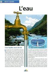 L'eau - Intérieur - Format classique