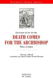 Death comes for the archbishop, de Willa Cather - Couverture - Format classique
