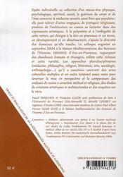 Guérisons du corps et de l'âme ; approches pluridisciplinaires - 4ème de couverture - Format classique
