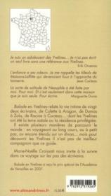 Balade en Yvelines - 4ème de couverture - Format classique