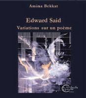 Edward said, variations sur un poème - Intérieur - Format classique