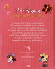 Petites princesses - 4ème de couverture - Format classique