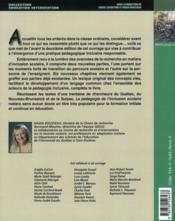 La pégagogie de l'inclusion scolaire ; pistes d'action pour apprendre tous ensemble (2e édition) - 4ème de couverture - Format classique