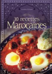 30 recettes marocaines - Couverture - Format classique