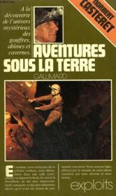 Aventures Sous La Terre. Collection : Exploits. - Couverture - Format classique