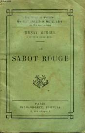 Le Sabot Rouge. - Couverture - Format classique