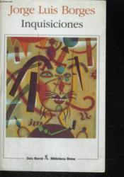 Inquisiciones - Couverture - Format classique
