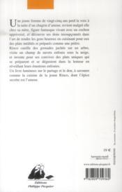 Le restaurant de l'amour retrouvé - 4ème de couverture - Format classique