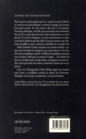 Les charognards - 4ème de couverture - Format classique
