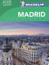 Le guide vert week-end ; Madrid - Couverture - Format classique