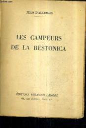 Les Campeurs De La Restonica. - Couverture - Format classique