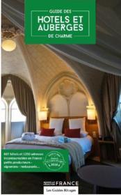 Hôtels et Auberges de charme en France - Couverture - Format classique