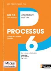 LES PROCESSUS 4 ; processus 6 ; BTS CG ; 1ère et 2ème années ; livre de l'élève + licence (édition 2016) - Couverture - Format classique
