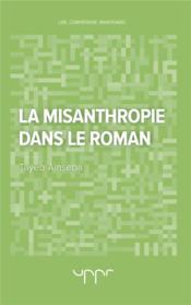 La misanthropie dans le roman - Couverture - Format classique