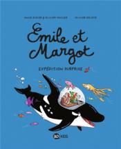 Emile et Margot T.10 ; expédition surprise - Couverture - Format classique