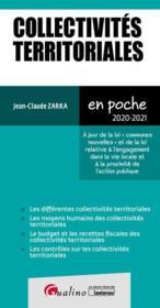 Collectivités territoriales (édition 2020/2021) - Couverture - Format classique