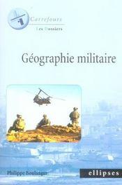 Géographie militaire - Intérieur - Format classique
