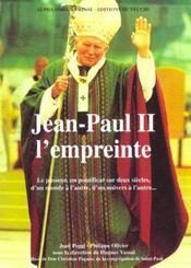 Jean Paul Ii ; L'Empreinte - Intérieur - Format classique
