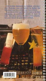 Cocktails - 4ème de couverture - Format classique