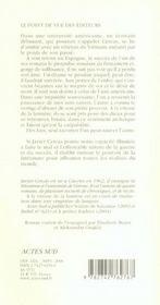 A La Vitesse De La Lumiere - 4ème de couverture - Format classique