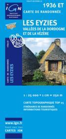 Les Eyzies ; vallées de la Dordogne et de la Vézère ; 1936 ET - Couverture - Format classique