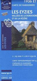 Les Eyzies ; vallées de la Dordogne et de la Vézère ; 1936 ET - Intérieur - Format classique