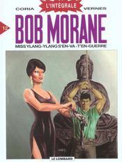 Bob Morane ; intégrale t.12 ; miss Ylang-Ylang s'en va t'en guerre - Intérieur - Format classique