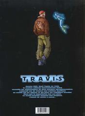 Travis T.4 ; protocole Oslo - 4ème de couverture - Format classique