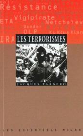 Les terrorismes - Couverture - Format classique