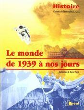 Histoire terminales l/es/s - Intérieur - Format classique