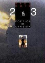 Poetics of cinema t.2 - Couverture - Format classique