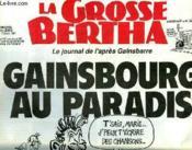 La Grosse Bertha N°8 - Gainsbourg Au Paradis - Couverture - Format classique
