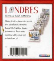 Petit pop-up panoramique t.3 ; Londres - 4ème de couverture - Format classique