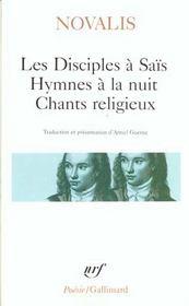 Les disciples à saïs ; hymnes à la nuit ; chants religieux - Intérieur - Format classique