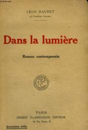 Dans La Lumiere. - Couverture - Format classique