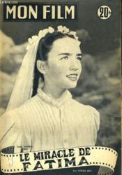 Mon Film N° 380 - Le Miracle De Fatima - Couverture - Format classique