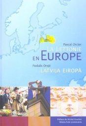La Lettonie en Europe - Intérieur - Format classique