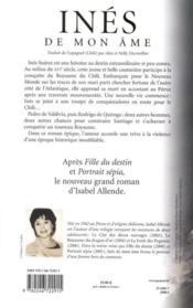 Inés de mon âme - Couverture - Format classique
