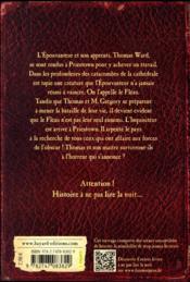 L'épouvanteur T.2 ; la malédiction de l'épouvanteur - 4ème de couverture - Format classique