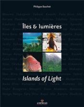 Îles et lumières ; islands of light - Couverture - Format classique