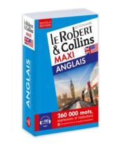 LE ROBERT & COLLINS ; MAXI ; anglais (édition 2019) - Couverture - Format classique