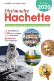 Dictionnaire Hachette (édition 2020) - Couverture - Format classique