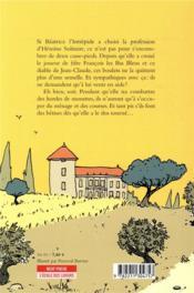 Béatrice l'Intrépide T.2 ; Béatrice l'Intrépide et le délicieux François les Bas Bleus - 4ème de couverture - Format classique