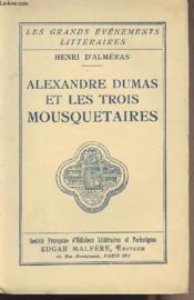 Alexandre Dumas et les trois mousquetaires - Couverture - Format classique