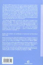 Dictionnaire de l'ancien regime - 4ème de couverture - Format classique