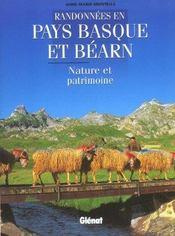 Randonnées en pays basque et bearn ; nature et patrimoine - Intérieur - Format classique